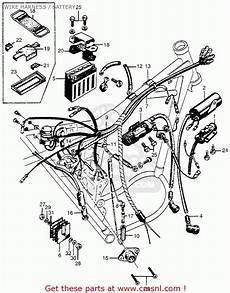 Honda Cl72 Scrambler 1962 Usa 250 Wire Harness Battery