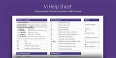 vi linux terminal help sheet gosquared blog