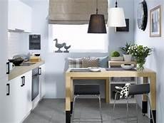 ideen kleine küche kleine k 252 che mit klarem aufger 228 umten design kleine
