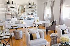 White And Gold Home Decor Ideas by Black White Gold Office Inspiration Williams