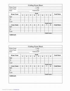 curling score sheet free download
