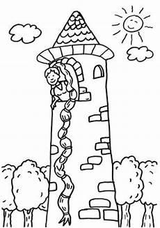 Ausmalbilder Rapunzel Malvorlagen Spielen Kostenlose Malvorlage M 228 Rchen Rapunzel Zum Ausmalen Zum