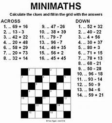 20 easy and interactive math crossword puzzles kittybabylove com