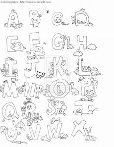 alphabet animal coloring pages timeless miracle