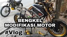 Bengkel Motor Custom by Bengkel Modifikasi Motor Trail Custom Gotri Garage Joso