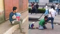 Deretan Foto Sedih Pria Patah Hati Karena Ditolak Wanita