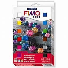 Fimo Soft Quot Basisfarben Set Quot Inhalt 12 Halbbl 246 Cke 224 25 G
