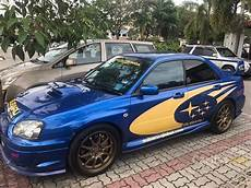 subaru impreza 2004 wrx sti 2 0 in johor manual sedan blue