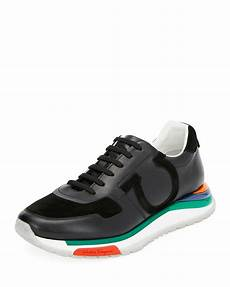 salvatore ferragamo s sneakers w rainbow