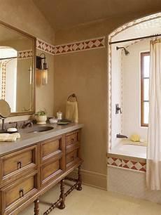 Wandgestaltung Badezimmer Farbe - mediterrane wandgestaltung farben und maltechniken