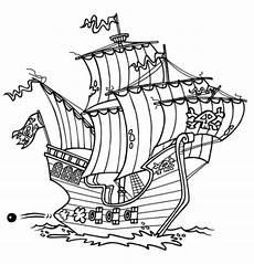 malvorlagen zum ausdrucken ausmalbilder piratenschiff