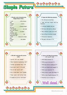 worksheets for conjugation 19169 simple future tense with key worksheet free esl printable worksheets made by teachers