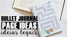 Bullet Journal Page Ideas Ideias Para O Seu Bullet