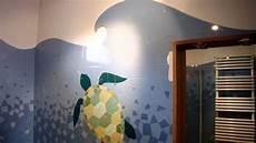 Cr 233 Ation D Une Fresque Murale Marine En Mosa 239 Que Dans Une
