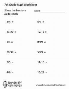 decimals equations worksheet 7116 seventh grade math worksheets