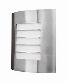 philips massive modern oslo curved outdoor wall light