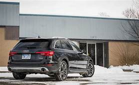 2018 Audi A4 Allroad  Cargo Space And Storage Review