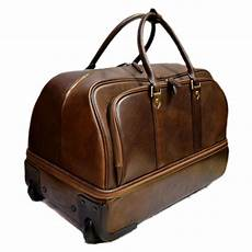damen reisetasche mit rollen leder troller reisetasche manner damen mit rollen mit