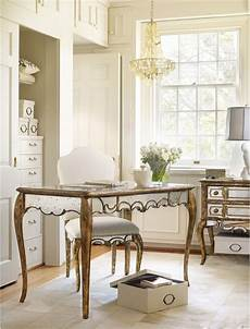 home office furniture nyc hooker furniture 48 1 4 quot mirrored writing desk in gold
