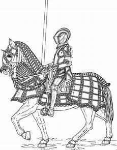 Malvorlage Pferd Mit Reiter Gepanzerter Reiter Ausmalbild Malvorlage Schlachten