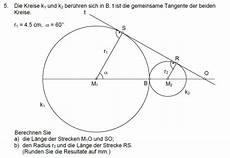 geometrie radius und l 228 nge berechnen mathelounge