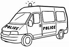 Ausmalbilder Polizei Truck Ambulanz Feuerwehr Polizei