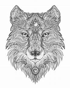 Malvorlagen Wolf Craft Wolf Colouring Page Colouring In Sheets