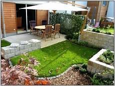 Sichtschutz Reihenhausgarten Gartengestaltung Kleiner