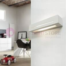 large rectangular ceramic plaster wall washer light modern design