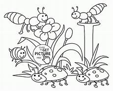 nature coloring pages free 16341 nature coloring page for seasons coloring pages printables free wuppsy