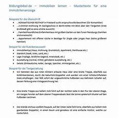 Wohnung Besichtigungstermin Vereinbaren by Richtige Immobilienanzeige Gestalten F 252 R Haus Oder Wohnung
