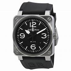 bell and ross bell and ross aviation black steel automatic 42