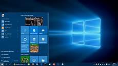 bureau classique windows 10 menu d 233 marr 233 qui fonctionne a moiti 233 win 10 windows