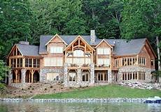 waterfront house plans walkout basement plan 26600gg high end drama with bonus lake house plans