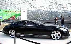 Rare And Expensive Cars  Maybach Exelero Wallpaper