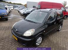 toyota yaris verso gebraucht toyota yaris verso 1 3 65528 used available from stock