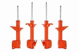 KYB AGX Adjustable Gas Shocks  04 07 WRX