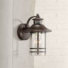 galt 11 1 4 quot high bronze motion sensor outdoor wall light 33h87 ls plus