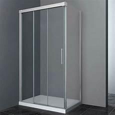 cabine de 3 parois box doccia angolare 90x80 cm gme trio profili in alluminio