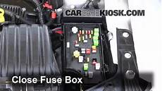 Interior Fuse Box Location 2011 2014 Chrysler 200 2012
