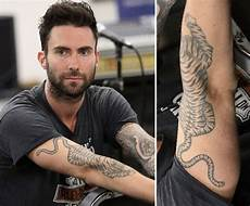 adam levine tattoos celebritiestattooed com
