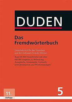 Der Duden Bd 5 Das Fremdw 246 Rterbuch Buch Portofrei
