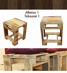 Petit Tabouret En Bois De Palette Les Meubles En Palette