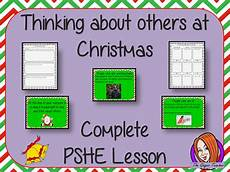 pshe worksheets who help us 15904 thinking of others at complete pshe lesson teaching resources