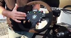 fanatec develops realistic bmw m3 gt2 racing steering