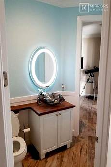 front lighted led bathroom vanity mirror 24 quot wide 32