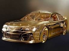 details mike dunlap in gold replica car creation