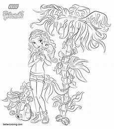 lego friends coloring pages free printable