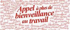 Appel 224 Plus De Bienveillance Au Travail Journ 233 E De La