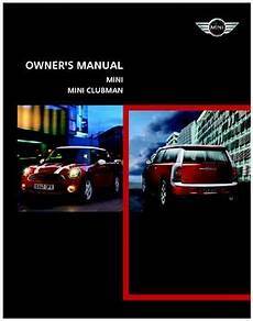 automotive repair manual 2008 mini clubman auto manual 2008 mini clubman owner s manual pdf 164 pages